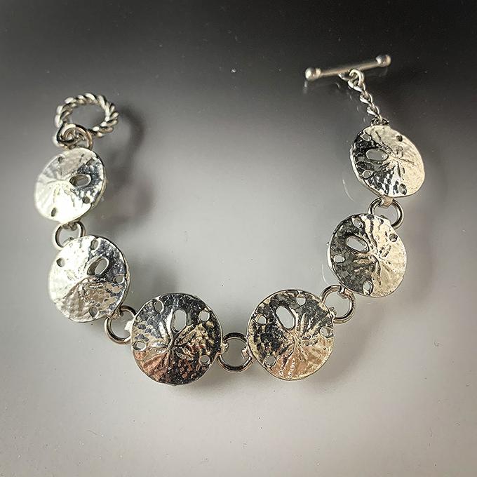 Small Sand Dollar Bracelet