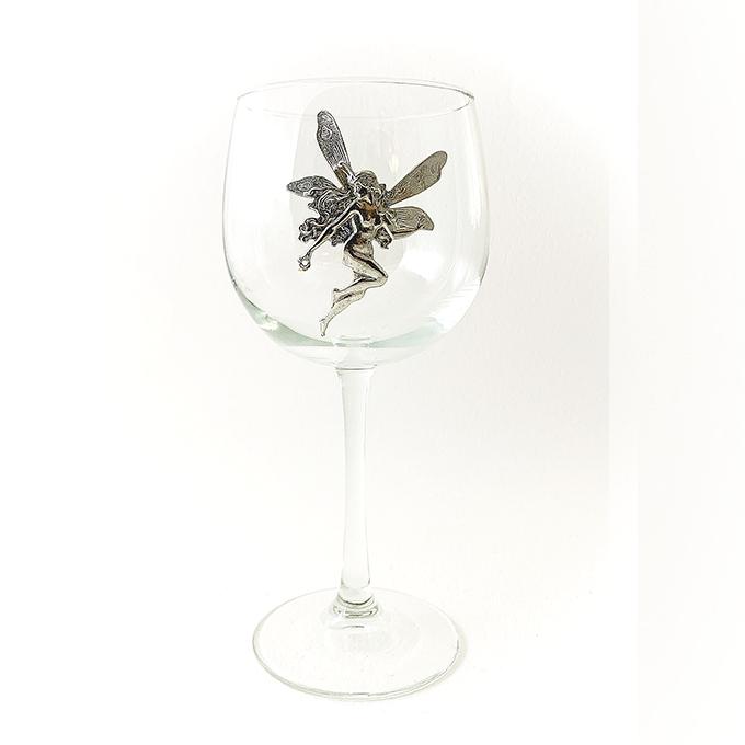 Fairy Red Wine Glass