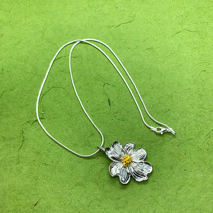 Dogwood Chain Necklace