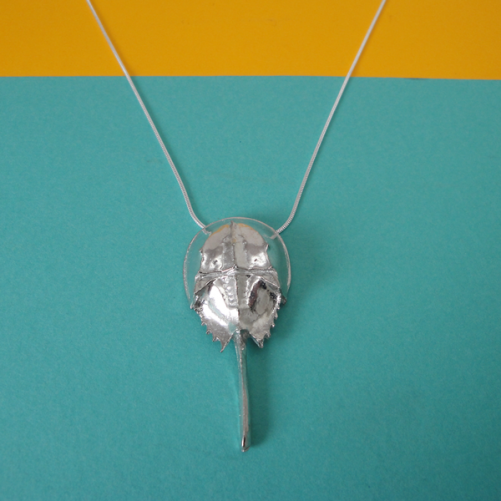 Horseshoe Crab Necklace
