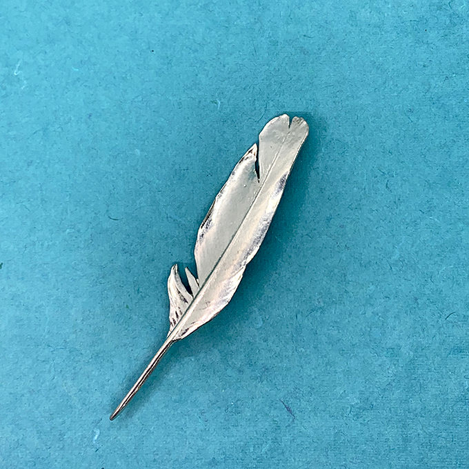 Feather Small Pin