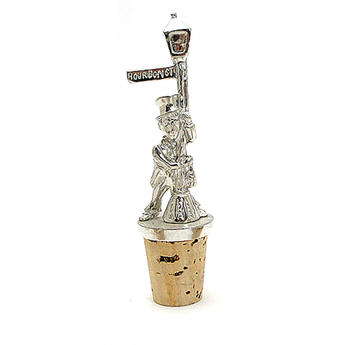 bourbon street drunk wine stopper
